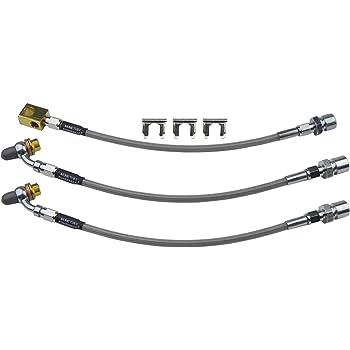 4 Lines per Kit Edelbrock//Russell 692010 Street Legal Brake Line Kit
