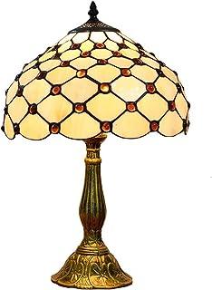 Amazon It Lampada Tiffany Lampade Da Tavolo E Abat Jour Lampade Illuminazione