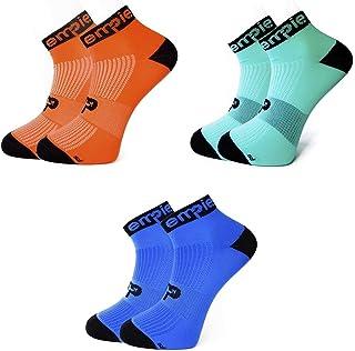 EMPIE, sport 2/3/4 Pares de Calcetines de deporte con COOLMAX© y SIN COSTURAS, para Running, Ciclismo, triatlón, Fitness, Crossfit o uso diario.(Hombre y Mujer). Fabricados en EU