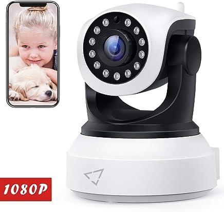 [ Nuova versione ] Victure Telecamera IP WiFi Interno 1080P,Videocamera di Sorveglianza Wireless FHD con Sensore di Movimento, Visione Notturna,Audio Bidirezionale