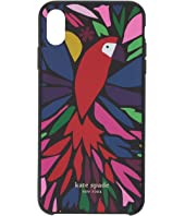 Kate Spade New York - Papercut Parrot Phone Case For iPhone XS Max