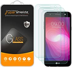 (3 Pack) Supershieldz for LG Fiesta LTE and LG Fiesta 2 Tempered Glass Screen Protector, 0.33mm, Anti Scratch, Bubble Free