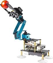 Adeept RaspArm-S 4-DOF Robot Arm 4 Axis Robotic Arm Kit for Raspberry Pi 4 3B 3B+   Programmable Robot DIY Coding Robot Ki...