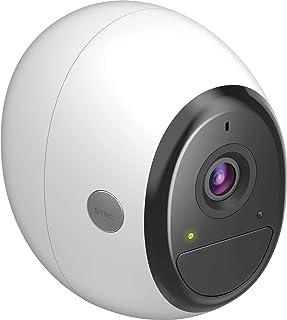 D-Link DCS-2800LH-EU - Cámara WiFi Adicional a batería Recargable (sin Cables Full HD 1080p Exterior/Interior 2-Way Audio grabación en la Nube Compatible Amazon Alexa y Google Home visión 140)
