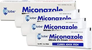 Miconazole Nitrate 2 % Antifungal Cream - 1 Oz (3 PACK) (3 x 1 OZ TUBES) GREAT DEAL