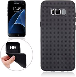 Dream Mesh Soft TPU Back Case for Samsung Galaxy S8 Plus - Black