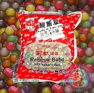 2 BAGS RAINBOW BUBBLE TEA BOBA TAPIOCA PEARL 2.2LB