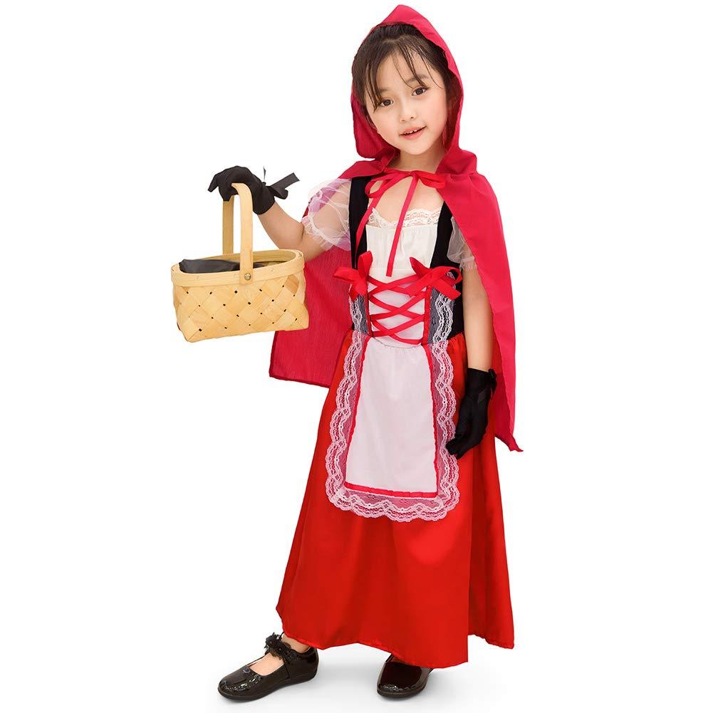 TAIPPAN Disfraz de Oktoberfest niña Vestido bávaro alemán Disfraz ...