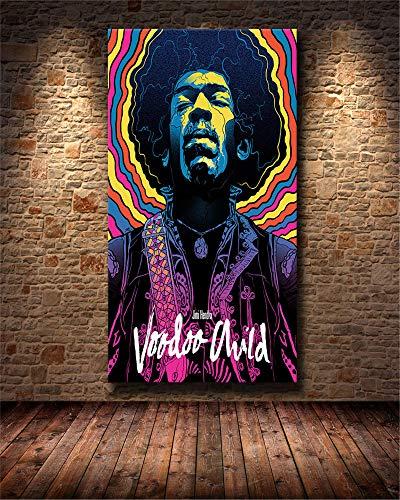 Pintar por Numeros Hombre de la música rock DIY Cuadro al...