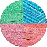 Smarty Stop All Flavor Sour Candy Belts (Sour Assorted, 1 LB) from Smarty Stop