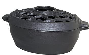 John Wright 31666 Black Matte Lattice Steamer