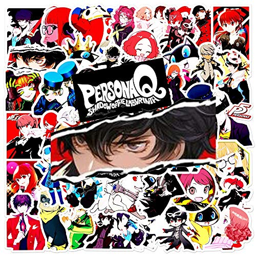 YOUYOU Personality Persona Game Anime Stickers Japan Pack Graffiti Skateboard Snowboard Suitcase Kids Stickers Paper Decal Toy 50Pcs