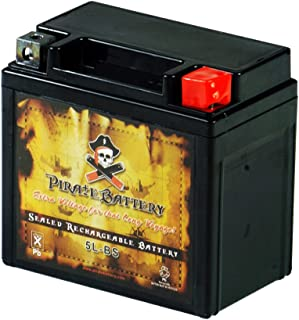 Pirate Battery YTX5L-BS High Performance Power Sports Battery