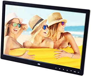 Digital Photo Frame, 15 inch Electronic Album, Wide Screen 1440 * 900 High Resolution Picture Player, Support USB/SD Card ...