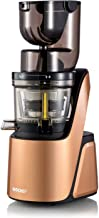 BioChef Quantum Whole Slow Juicer - With powerful 300 W motor, wide chute (3.15 x 3.15 inch) & many accessories in bronze
