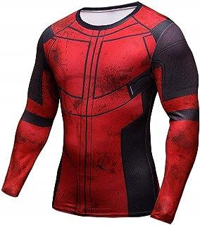 Thanos Shirt Super Hero Compression Sports Shirt Men's Fitness Tee Gym Tank Top XXL