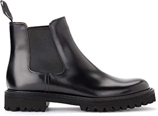 Church's Stivaletto Chelsea Nirah T in Pelle Nera, Taille UK: