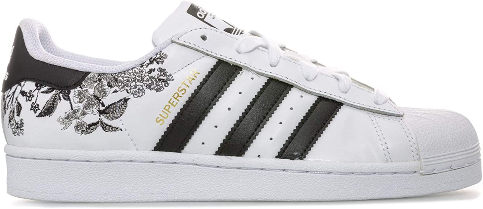 adidas Originals Baskets Superstar Blanc Noir Femme, 37 1/3 EU ...