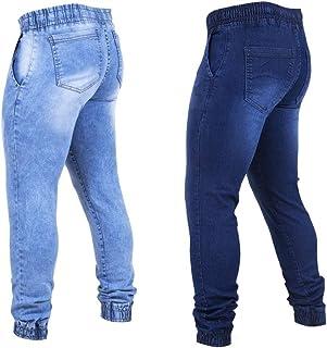 Kit 2 Calças Jeans Masculina Jogger Tendencia