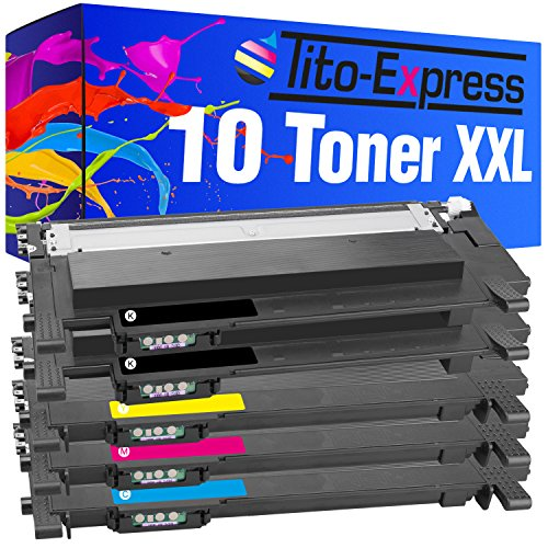 PlatinumSeries 10 Toner XXL compatible con Samsung CLT-404S Xpress C430 C430W C480...