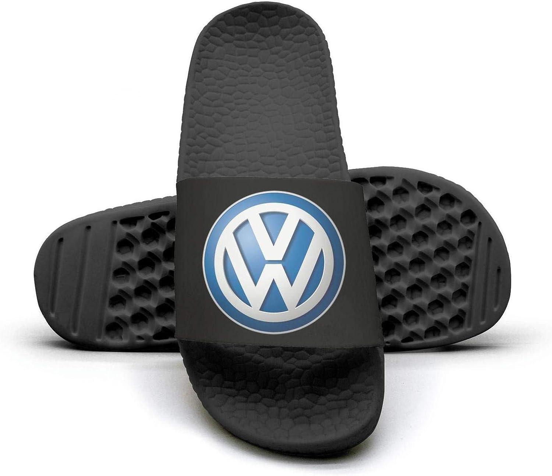 EIGKASL Printed Non-Slip Slippers Slide flip Flop Sandals Volkswagen-Logo-Emblem-Symbol-Summer Casual for Womens