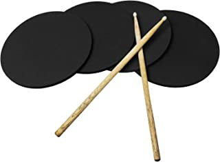 4-Pack Drum Practice Pads - 11