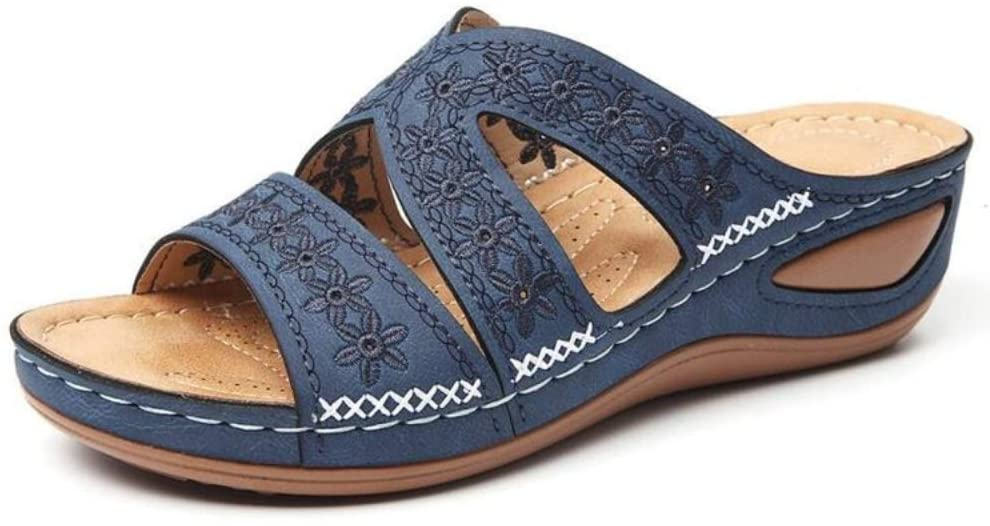 HEOLIEN Arizona specialty shop Safety and trust Leather Soft San Orthopedic Footbed Arch-Support