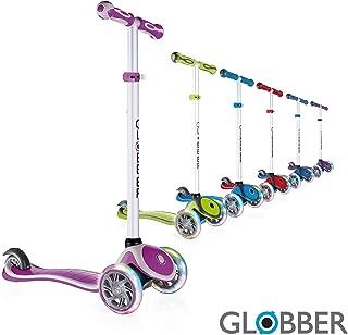 Globber Primo Plus Lights V2 3 Wheel Adjustable Scooter