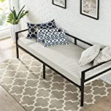 Zinus Brandi Quick Lock 30 Inch Wide Day Bed Frame and Foam Mattress...