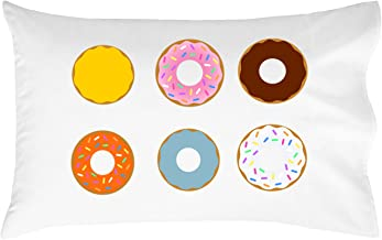 Oh, Susannah Donut Pillowcase - Cute Pillow Case (14x20 inch Pillowcase) Kids Room Decor Girls Pillowcase