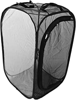 Fenteer Foldable Portable Insect Butterfly Habitat Cage Housing Enclosure Terrarium - as described, M