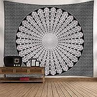 ベッドルームの家の装飾のためのインドのボヘミアンヒッピータペストリー、マンダラタペストリー150 X 130を吊るすCM、カスタマイズ可能なパターンとサイズ 18