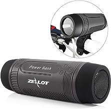 Outdoor Bluetooth Speakers Portable Bicycle Speaker Zealot S1 4000mAh Power Bank..