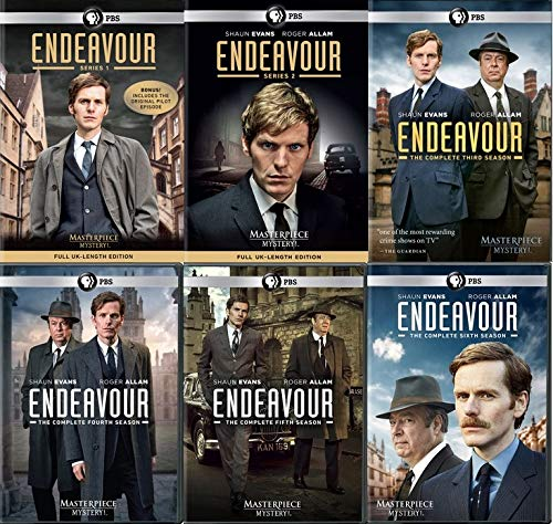 Masterpiece Mystery: Endeavour Series 1-6