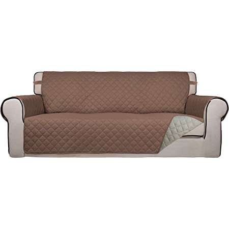 Details about  /2xArmchair Sofa Slipcover Couch Cushion Protectors Pad Covers Anti-skid