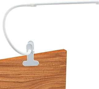 Sponsored Ad - DOLILO Dimmable LED Lamp, Clip-on Gooseneck Desk Lamp, Color Temperature Adjustable Table Light, Eye Care N...