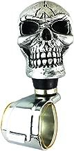 Steering Spinner Knob Cool Skull Style Auto Car Steering Wheel Suicide Spinner Handle Wheel Turning Knob Silver