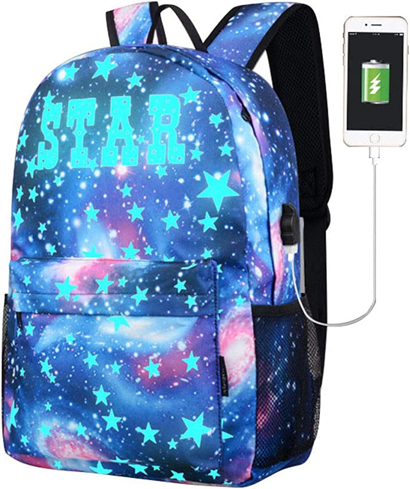 SSYongxia TRENDYMAX Galaxy Backpack Cute for School 11.8x17.7x5.5 Holds 15.4-inch Laptop