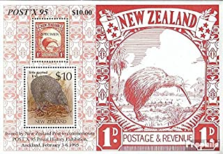 New Zealand block47 (Complete.Issue.) 1995 Post History (Stamps for Collectors)