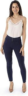 Trendcool Pantalones Elasticos. Jeans Mujer de Colores. Pantalon Mujer Push Up.