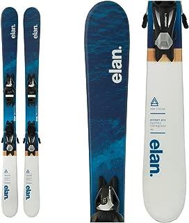 Elan Pinball Pro Kids Skis with EL 7.5 Bindings 2018 - 135cm