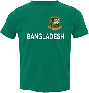 SMARTZONE Cricket Bangladesh Jersey Style Fans Supporter Toddler T-Shirt