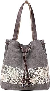 Dragon Honor Women Nation Style Canvas Handbag Shoulder Bag Tote Beach Satchel Bag