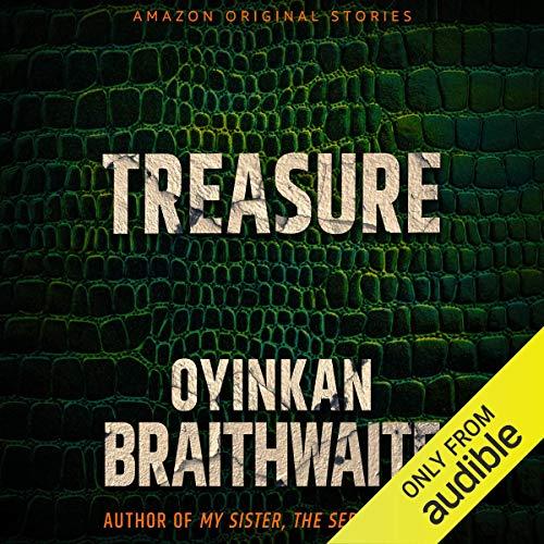 Treasure audiobook cover art