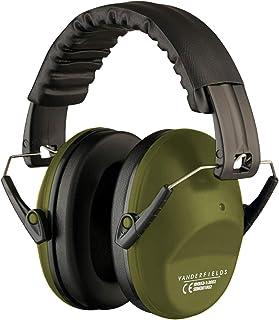 사격을 위한 귀걸이 보호 - 컴팩트 접이식 휴대용 보청기 보호 안전 귀마개 - 사냥 레인지 공부 잔디 깎기에 적합 남성 여성 성인