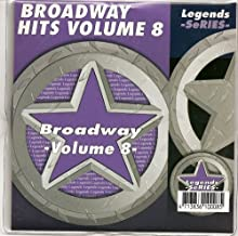 LEGENDS Karaoke CDG BROADWAY SHOWSONGS Vol.8 Show Tunes cd
