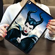 DISNEY COLLECTION Case for iPad Mini 4 Maleficent Angelina Jolie Elle Fanning Lightweight Cartoon Cute TPU Shockproof Defender Protective Cover