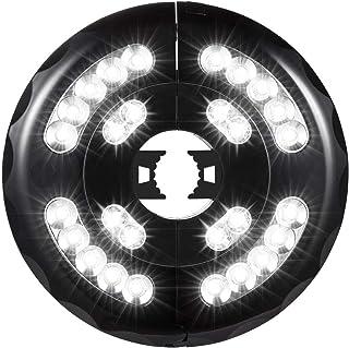 OYOCO Patio Umbrella Light 3 Brightness Modes Cordless 28 LED Lights at 200 lumens-3AA Battery Operated,Umbrella Pole Ligh...