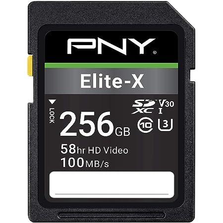 Pny Elite X Sdxc Card 256gb Class 10 Uhs I U3 100mb S Computer Zubehör
