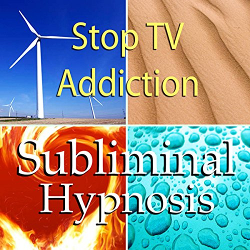 Stop TV Addiction Subliminal Affirmations audiobook cover art